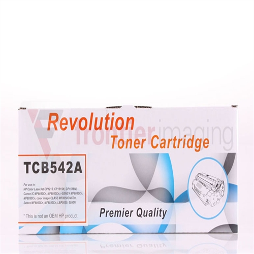 Compatible Revolution Toner Yellow (CB542A)