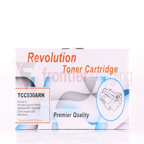 Remanufactured Revolution Black Toner Cartridge (CC530A)