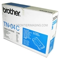 Brother TN04C Toner Cartridge Cyan